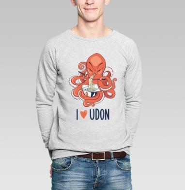 Любовь к лапше - Купить мужские свитшоты с китами в Москве, цена мужских свитшотов с китом с прикольными принтами - магазин дизайнерской одежды MaryJane