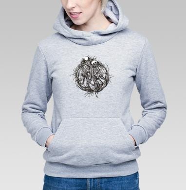 Венок - Купить детские толстовки с черепом в Москве, цена детских толстовок с черепом  с прикольными принтами - магазин дизайнерской одежды MaryJane