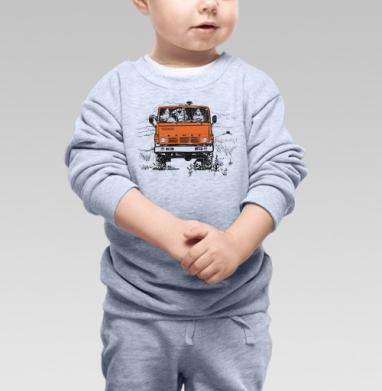 3 богатыря и Камаз - Купить детские свитшоты АК-47 в Москве, цена детских свитшотов автомат Калашникова  с прикольными принтами - магазин дизайнерской одежды MaryJane