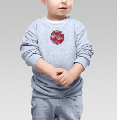 Арнамент - Купить детские свитшоты абстрактные в Москве, цена детских свитшотов абстрактных  с прикольными принтами - магазин дизайнерской одежды MaryJane