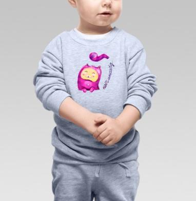 Кэт инсайд - Купить детские свитшоты романтика в Москве, цена детских свитшотов романтических  с прикольными принтами - магазин дизайнерской одежды MaryJane