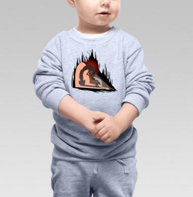 My Darkness - Купить детские свитшоты с волками в Москве, цена детских свитшотов с волками  с прикольными принтами - магазин дизайнерской одежды MaryJane