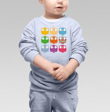 Cвитшот Детский серый меланж - Совопати