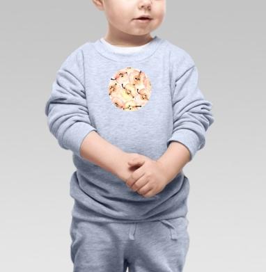 Яблоки  - Купить детские свитшоты с фруктами в Москве, цена детских свитшотов с фруктами  с прикольными принтами - магазин дизайнерской одежды MaryJane