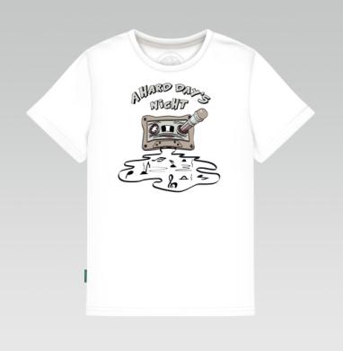 Детская футболка белая 160гр - A Hard Day's Night