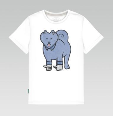 Лайка, Детская футболка белая