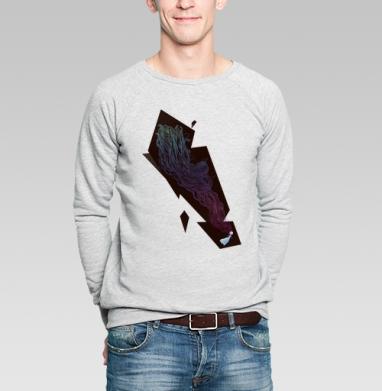 Сон в зимнюю ночь - Купить мужские свитшоты с летом в Москве, цена мужских свитшотов с летом  с прикольными принтами - магазин дизайнерской одежды MaryJane