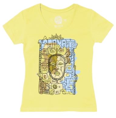 Футболка женская желтая - Майя2012