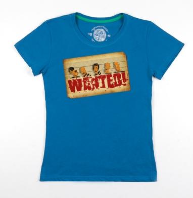 Футболка женская волна 200гр - Wanted!!!
