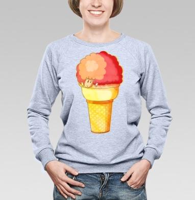 Мороженка  - Купить детские свитшоты с мороженным в Москве, цена детских свитшотов с мороженным  с прикольными принтами - магазин дизайнерской одежды MaryJane