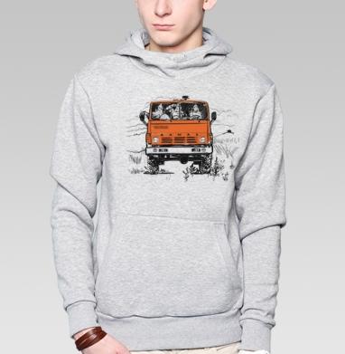 3 богатыря и Камаз - Купить мужские толстовки Ниндзя в Москве, цена мужских  Ниндзя  с прикольными принтами - магазин дизайнерской одежды MaryJane