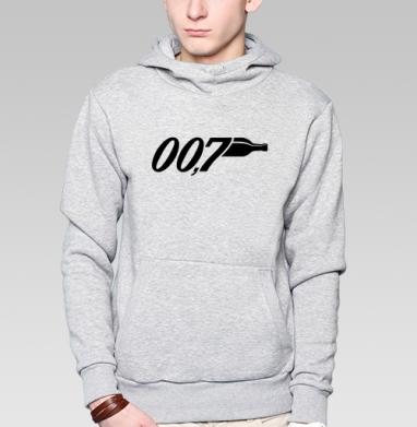 Агент 007 - Толстовка супермен мужская
