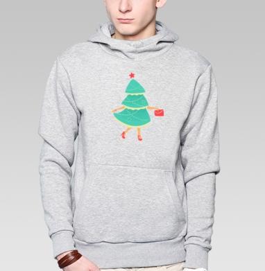 Елка-Красавица - Купить мужские толстовки модные в Москве, цена мужских  модных  с прикольными принтами - магазин дизайнерской одежды MaryJane