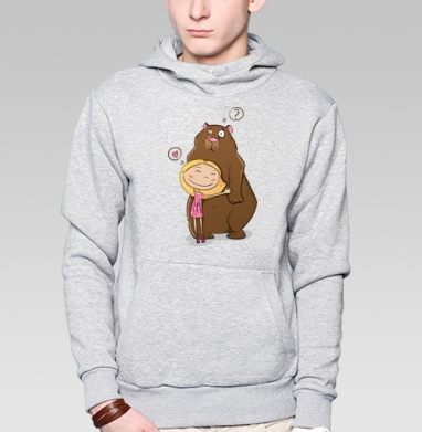 I like teddy bears - Толстовки детские