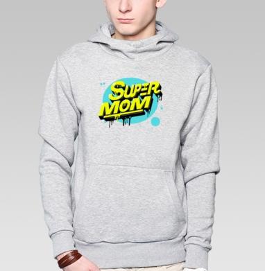 Super mom - Толстовка супермен мужская