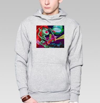 Супербаба - Толстовка супермен мужская