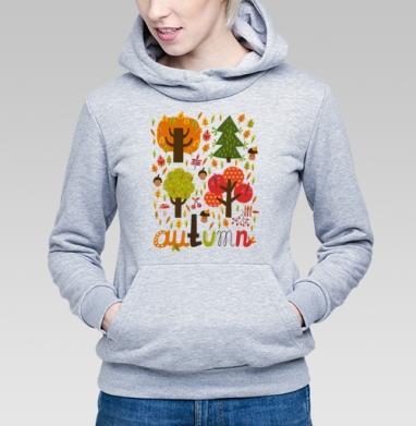 Autumn, Толстовка Женская серый меланж