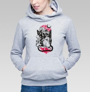 BLACK CAT - Купить детские толстовки с городами в Москве, цена детских толстовок с городами  с прикольными принтами - магазин дизайнерской одежды MaryJane