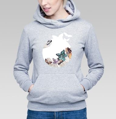 Butterfly blues - Купить детские толстовки с бабочками в Москве, цена детских толстовок с бабочкой с прикольными принтами - магазин дизайнерской одежды MaryJane