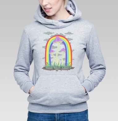 Cheerful Mushrooms - Купить детские толстовки с грибами в Москве, цена детских толстовок с грибами с прикольными принтами - магазин дизайнерской одежды MaryJane