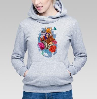 Dear deer - Купить детские толстовки с волками в Москве, цена детских толстовок с волками  с прикольными принтами - магазин дизайнерской одежды MaryJane