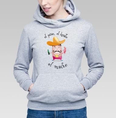 El macho - Купить детские толстовки с усами в Москве, цена детских толстовок с усами с прикольными принтами - магазин дизайнерской одежды MaryJane