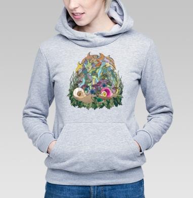 Это были не опята! - Купить детские толстовки с грибами в Москве, цена детских толстовок с грибами с прикольными принтами - магазин дизайнерской одежды MaryJane