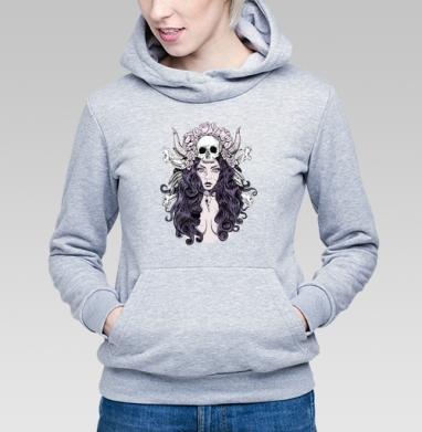 Готическая женщина - Купить детские толстовки с лицом в Москве, цена детских толстовок с лицом  с прикольными принтами - магазин дизайнерской одежды MaryJane