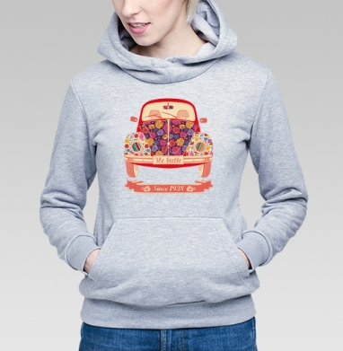 Жук в цветах - Купить детские толстовки с автомобилями в Москве, цена детских  с автомобилями  с прикольными принтами - магазин дизайнерской одежды MaryJane