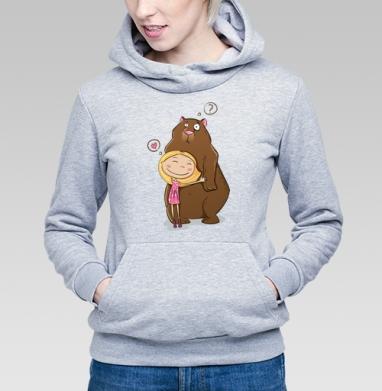 I like teddy bears - Купить детские толстовки милые в Москве, цена детских толстовок милых  с прикольными принтами - магазин дизайнерской одежды MaryJane