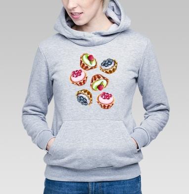 Капкейки - Купить детские толстовки сладости в Москве, цена детских толстовок со сладостями  с прикольными принтами - магазин дизайнерской одежды MaryJane