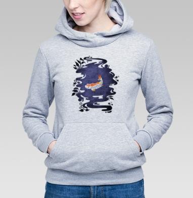 Карп - Купить детские толстовки с символами в Москве, цена детских толстовок с символом с прикольными принтами - магазин дизайнерской одежды MaryJane