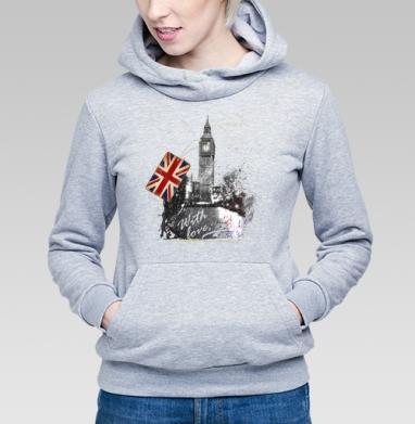 Когда часы двенадцать бьют - Купить детские толстовки с городами в Москве, цена детских толстовок с городами  с прикольными принтами - магазин дизайнерской одежды MaryJane