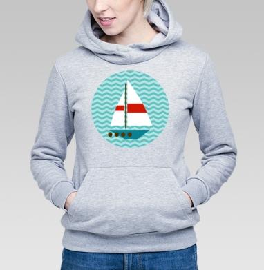 Кораблики - Купить детские толстовки с летом в Москве, цена детских толстовок с летом  с прикольными принтами - магазин дизайнерской одежды MaryJane
