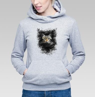 Кот - Купить детские толстовки с кошками в Москве, цена детских толстовок с кошками  с прикольными принтами - магазин дизайнерской одежды MaryJane