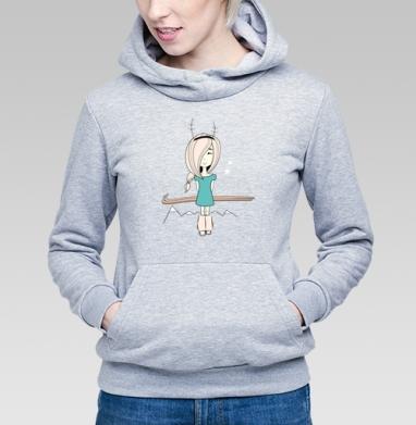 Little surprise - Купить детские толстовки с горами в Москве, цена детских толстовок с горами с прикольными принтами - магазин дизайнерской одежды MaryJane