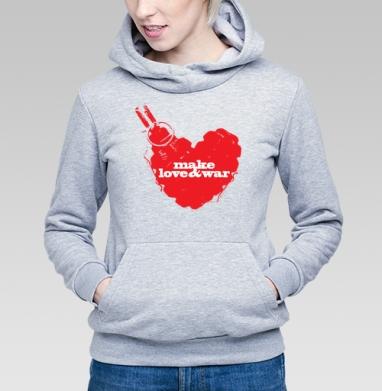 Make love&war - Купить детские толстовки с оружием в Москве, цена детских толстовок с оружием  с прикольными принтами - магазин дизайнерской одежды MaryJane