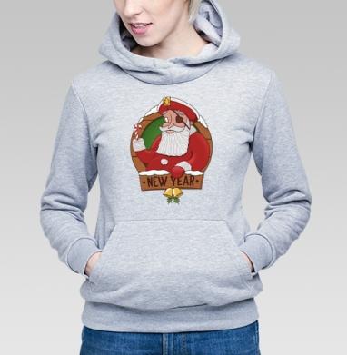 Пират Клаус  - Купить детские толстовки с пиратом в Москве, цена детских толстовок пиратских с прикольными принтами - магазин дизайнерской одежды MaryJane