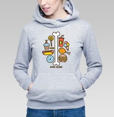 ШИРОКАЯ КОСТЬ - Купить детские толстовки сладости в Москве, цена детских толстовок со сладостями  с прикольными принтами - магазин дизайнерской одежды MaryJane