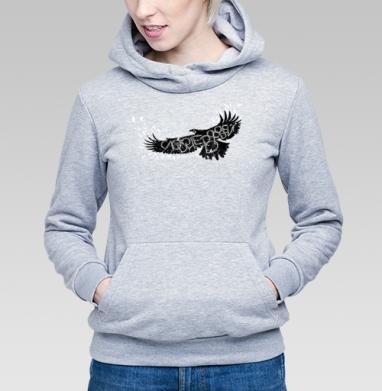 Слово не воробей - Купить детские толстовки с птицами в Москве, цена детских толстовок с птицами  с прикольными принтами - магазин дизайнерской одежды MaryJane