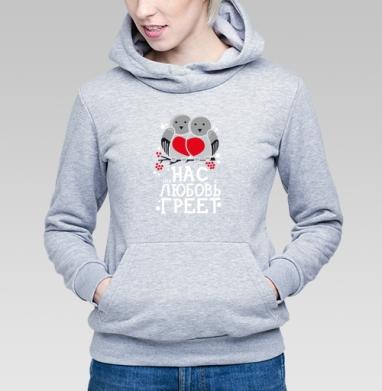 Снегири - Купить детские толстовки парные в Москве, цена детских  парных  с прикольными принтами - магазин дизайнерской одежды MaryJane