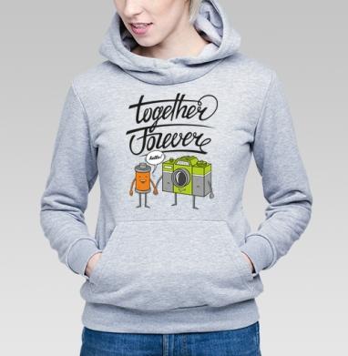 Together Forever - Купить детские толстовки парные в Москве, цена детских толстовок парных  с прикольными принтами - магазин дизайнерской одежды MaryJane