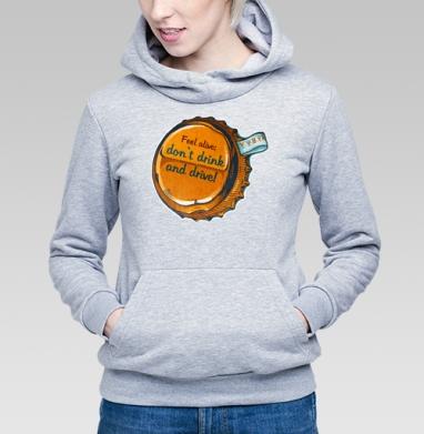 Трезвый водитель - Купить детские толстовки алкоголь в Москве, цена детских толстовок с алкоголем с прикольными принтами - магазин дизайнерской одежды MaryJane