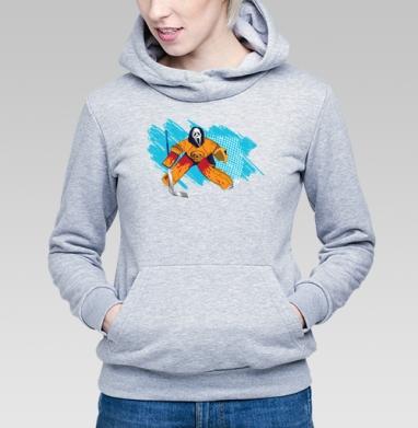 Трус не играет в хоккей - Купить детские толстовки спортивные в Москве, цена детских толстовок спортивных  с прикольными принтами - магазин дизайнерской одежды MaryJane