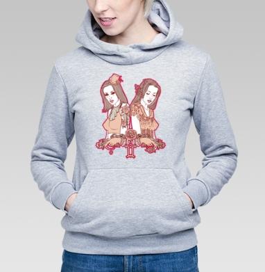 Twins - Купить детские толстовки с роами в Москве, цена детских толстовок с розой с прикольными принтами - магазин дизайнерской одежды MaryJane