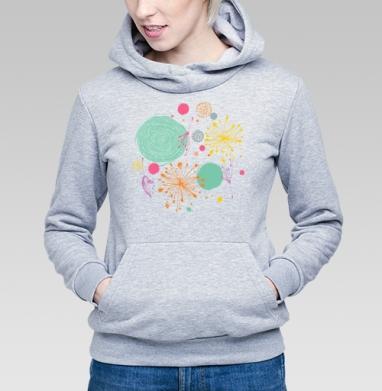 В весеннем воздухе - Купить детские толстовки абстрактные в Москве, цена детских толстовок абстрактных  с прикольными принтами - магазин дизайнерской одежды MaryJane