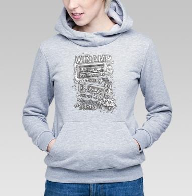 Winamp - Купить детские толстовки с программистом в Москве, цена детских толстовок с программистом с прикольными принтами - магазин дизайнерской одежды MaryJane