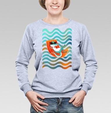 Не волнуйся - Купить детские свитшоты с летом в Москве, цена детских свитшотов с летом  с прикольными принтами - магазин дизайнерской одежды MaryJane