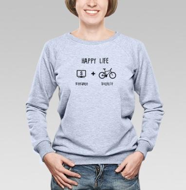 Счастливая жизнь - Купить детские свитшоты свобода в Москве, цена детских свитшотов свобода  с прикольными принтами - магазин дизайнерской одежды MaryJane
