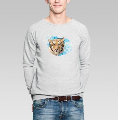 Амурский - Купить мужские свитшоты с тигром в Москве, цена мужских свитшотов с тиграми  с прикольными принтами - магазин дизайнерской одежды MaryJane
